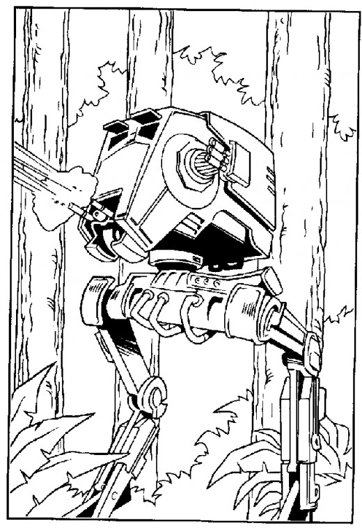 520x759 Star Wars Printable Coloring Pages Hubpages