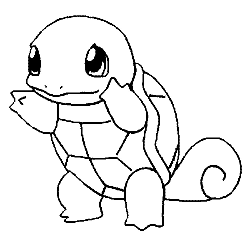 1000x948 Pokemon Coloring Pages Cute Acpra