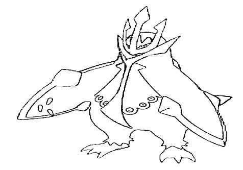 476x333 Pokemon Coloring Pages Empoleon Coloring Pages Black And White