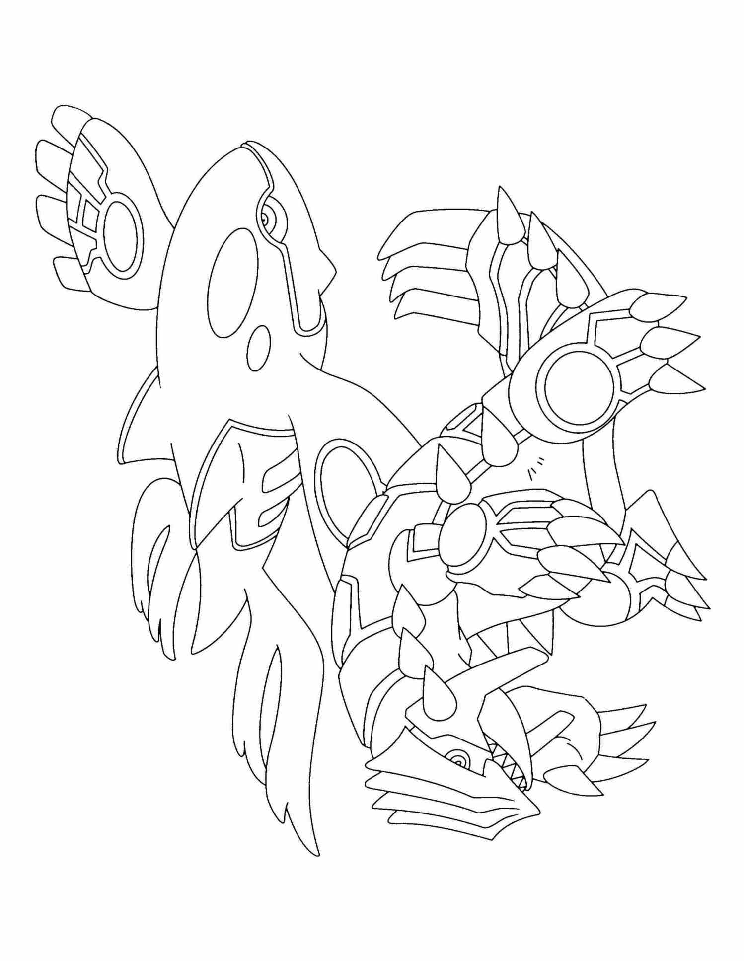 1498x1935 Pokemon Coloring Pages Kyogre Web Coloring Pages