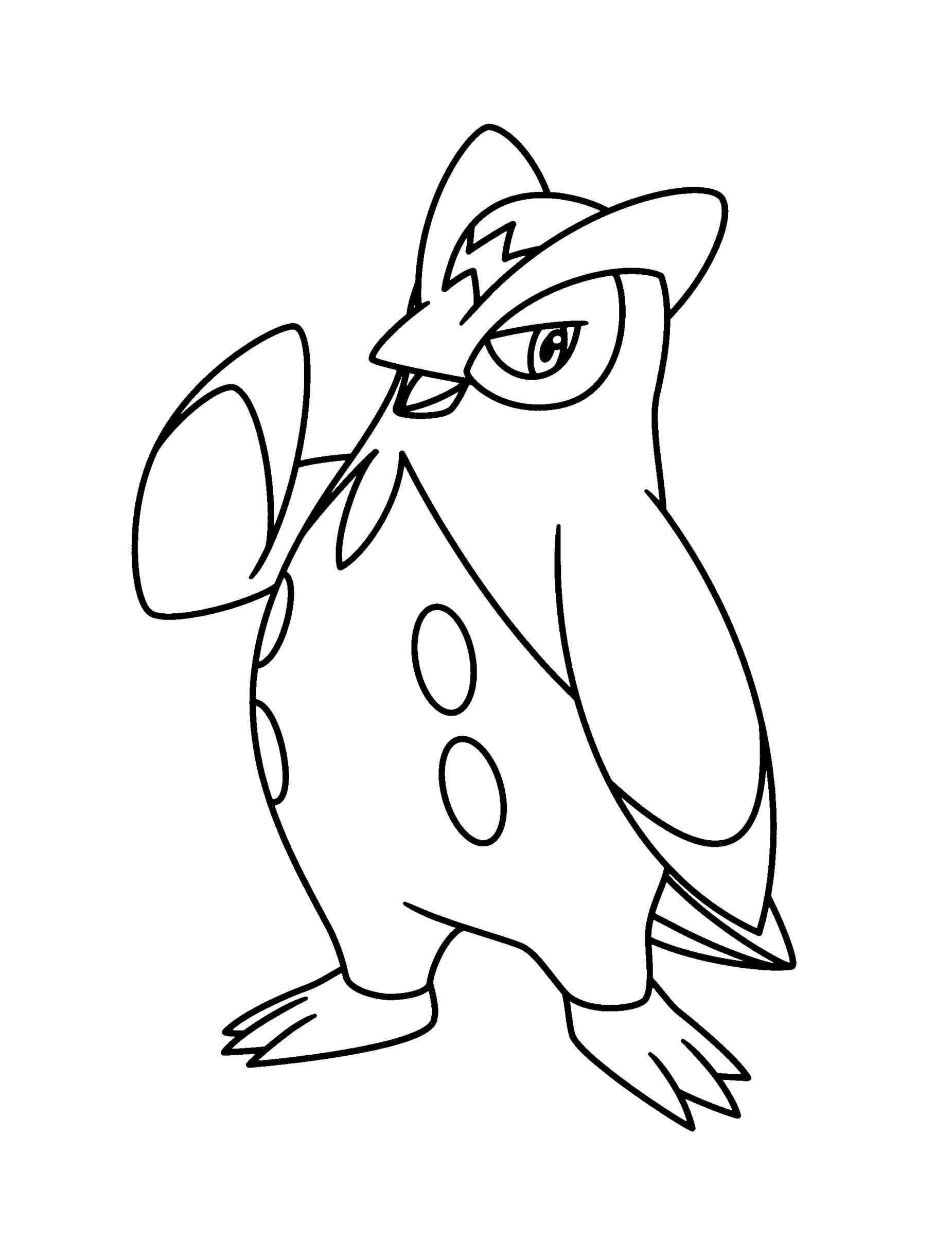 1817x2449 Pokemon Coloring Pages Prinplup Online Coloring Printable