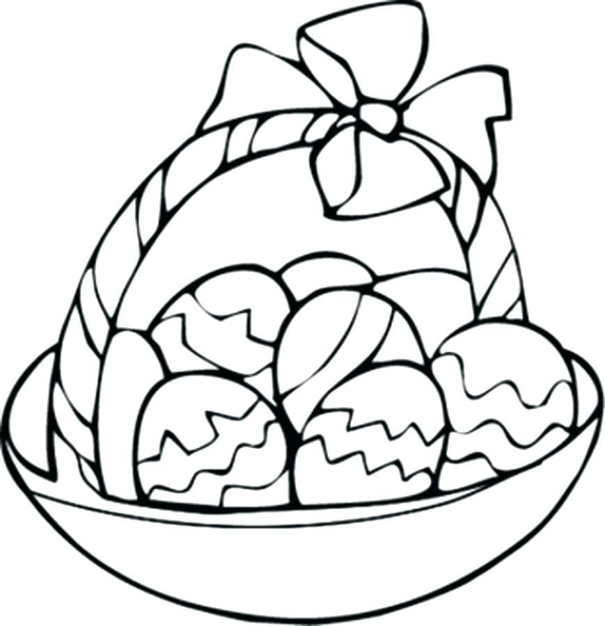 869x900 Easter Basket Coloring Sheet Basket Coloring Sheet Fun Printable