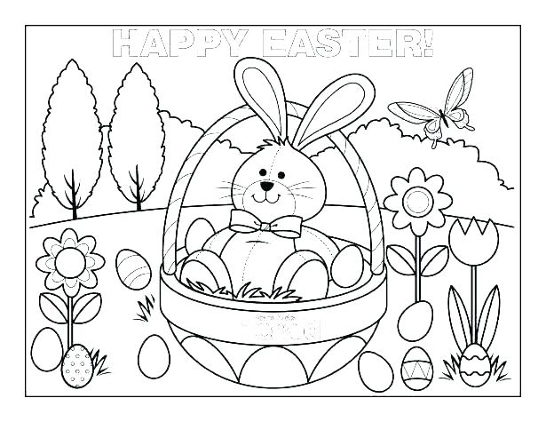 615x475 Coloring Pages Easter