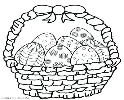 400x322 Easter Basket Coloring Pages