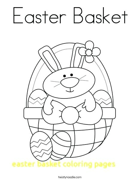 468x605 Empty Easter Basket Coloring Pages