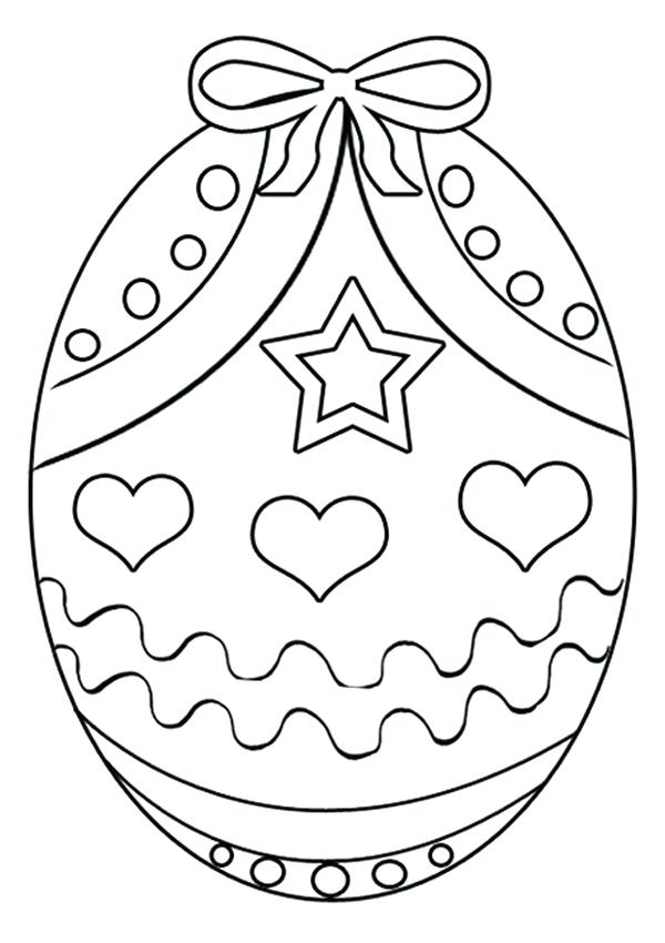 600x850 Easter Basket Coloring Page Free Online Egg Colouring Page Kids