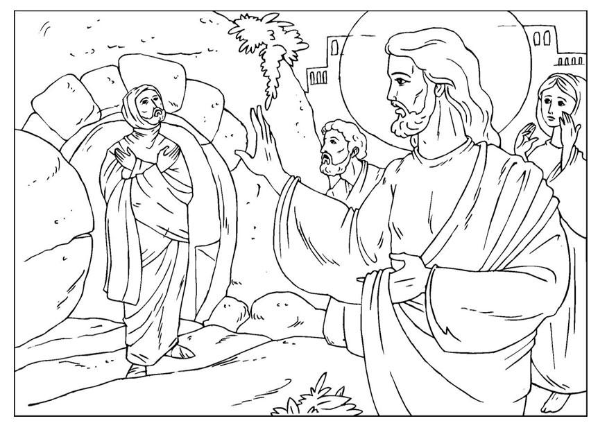 875x620 Empty Tomb Coloring Page