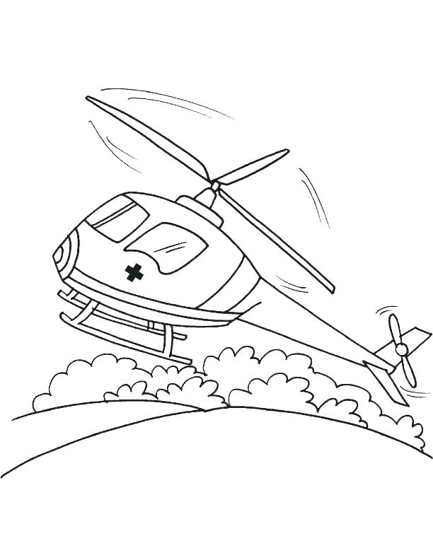 612x792 Ambulance Coloring Pages