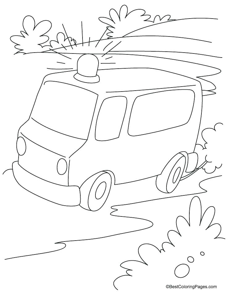 738x954 Ambulance Coloring Page Coloring Page Free Land Transport