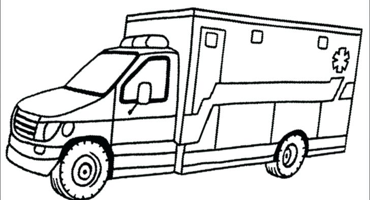 728x393 Ambulance Coloring Page Free Printabl On Noted Ems Coloring Pages