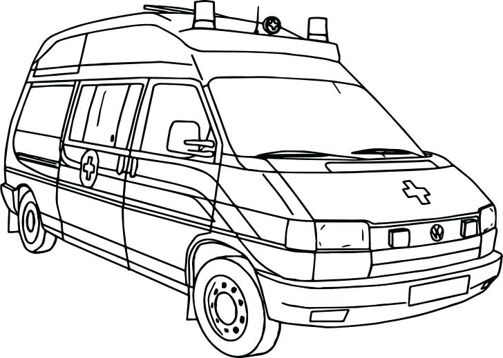 728x519 Ambulance Coloring Pages Medium Size Of Ambulance Coloring Pages