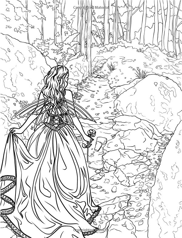 Enchanted Forest Coloring Pages Printable At Getdrawings Com Free