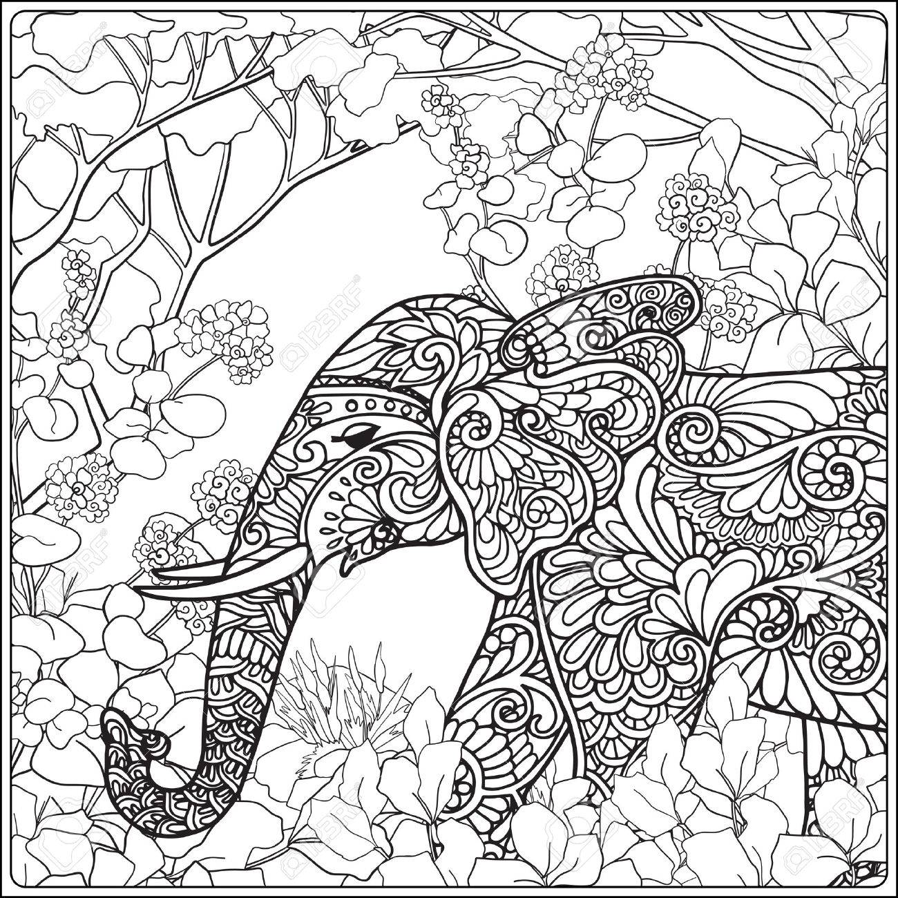 Enchanted Forest Coloring Pages Printable at GetDrawings ...
