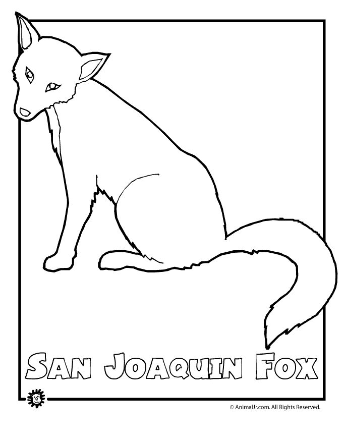 Endangered Species Coloring Pages
