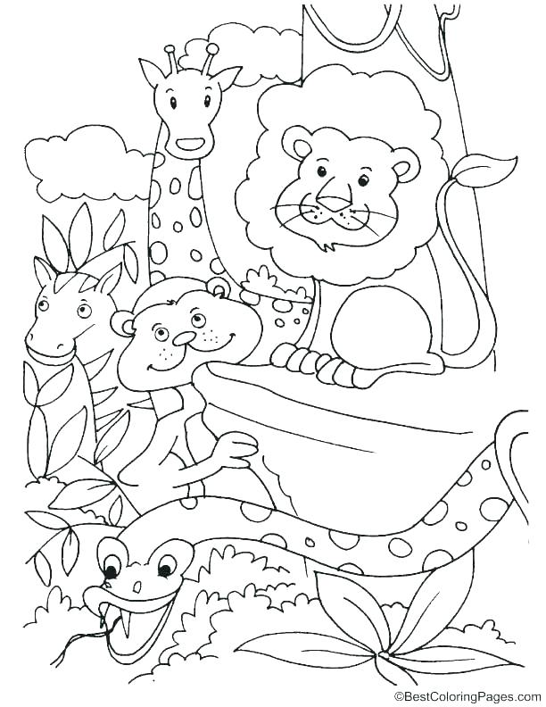 612x792 Extinct Animals Coloring Pages Finesse Site
