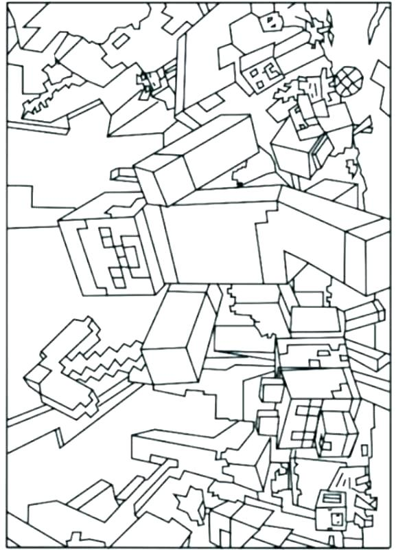 577x803 Free Coloring Pages Coloring Pages Packed With Coloring Minecraft