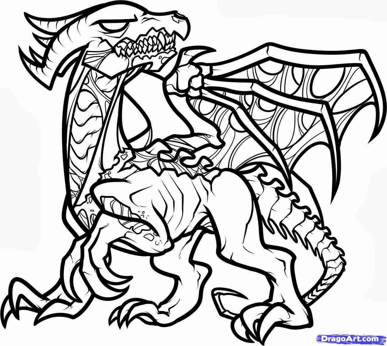 1297x1158 Minecraft Coloring Pages Designs Within Ender Dragon Olegratiy