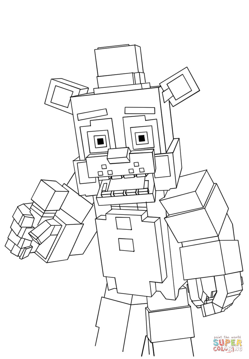 824x1186 Minecraft Coloring Pages Kids Picturesque Mine Craft