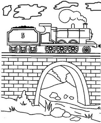 329x400 Best Thomas Friends Coloring Page Images