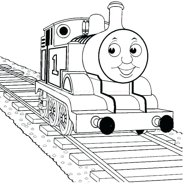 618x619 Thomas Edison Coloring Page Coloring Page The Tank Engine Coloring