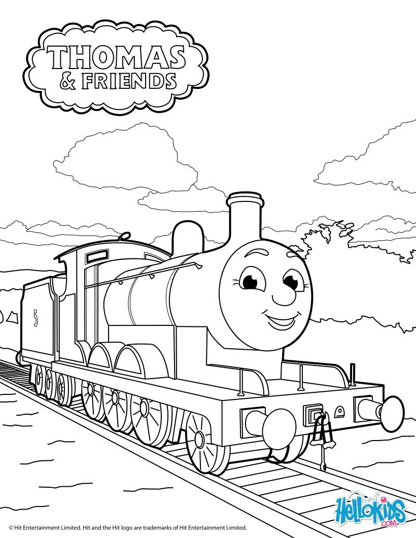 820x1060 Thomas The Tank Engine Coloring Page James Coloring Pages
