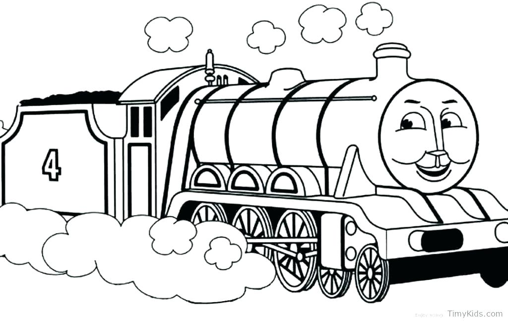 1024x647 Thomas Tank Engine Colouring Pages Also Free Printable