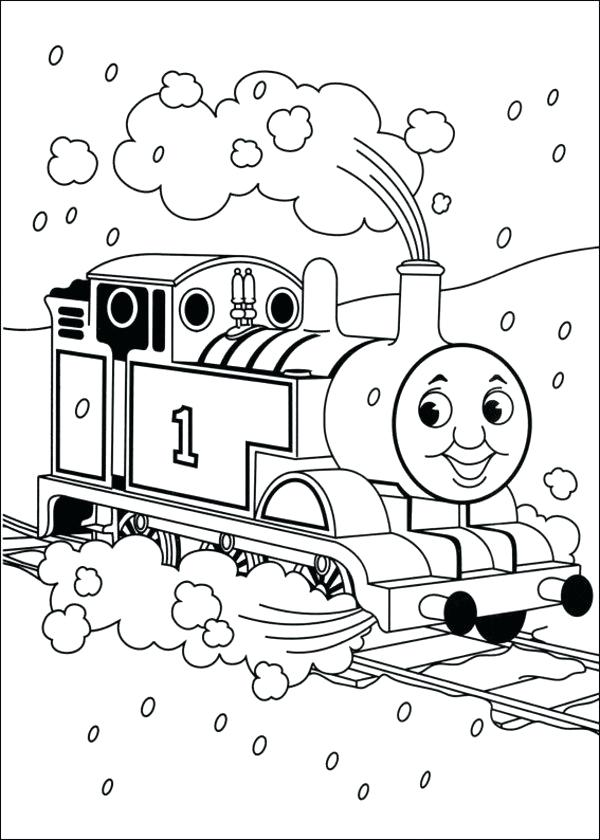 600x840 Thomas The Train Coloring Sheets Also The Tank Engine Coloring