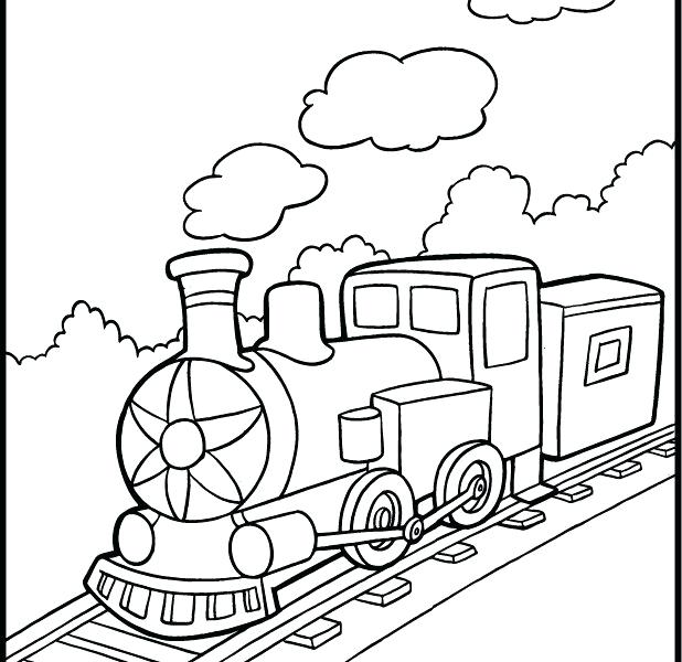 618x600 Train Coloring Book Thomas The Tank Engine Color Pages Train Color