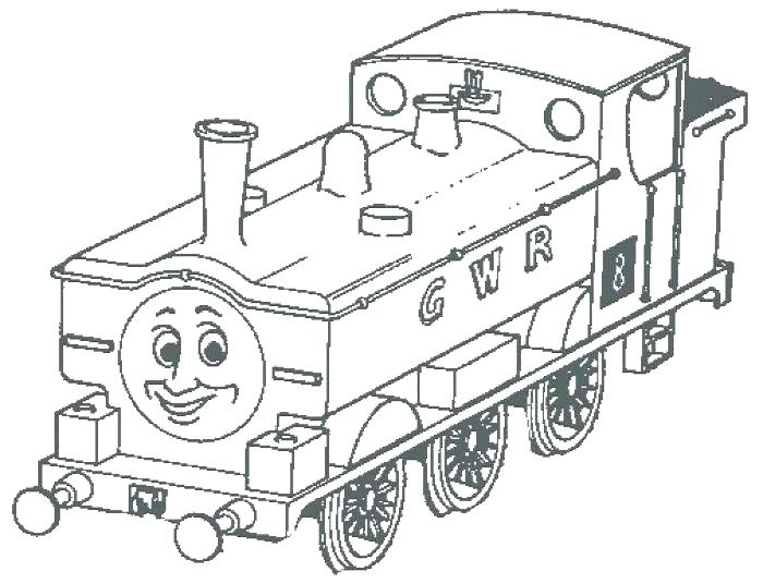700x536 Train Coloring Pages And The Tank Engine Coloring Pages To Print