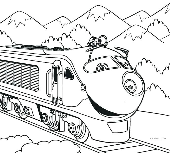 670x600 Trains Coloring Pages Steam Train Coloring Page For Kids Thomas