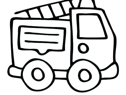 440x330 Fire Truck Coloring Pages Printable