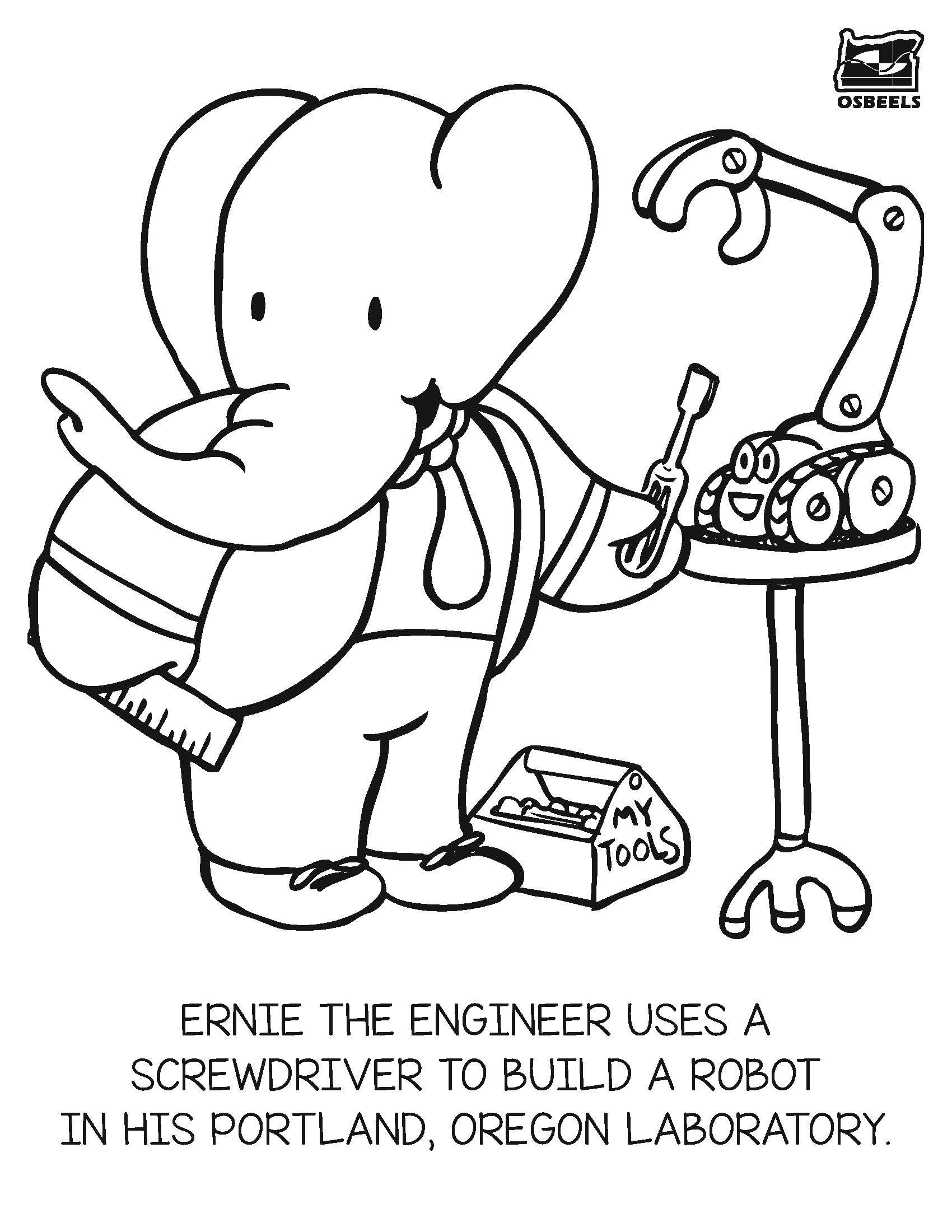 1700x2200 Stem Coloring Pages