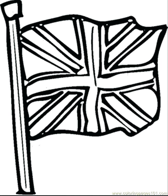650x756 England Flag Coloring Page Flag Coloring Page Coloring Page