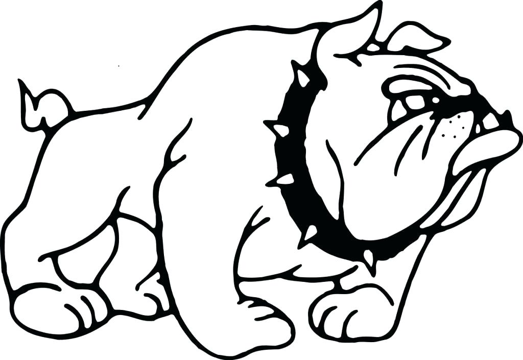 1024x705 Bulldog Coloring Pages Bulldog Coloring Pages Part Old English