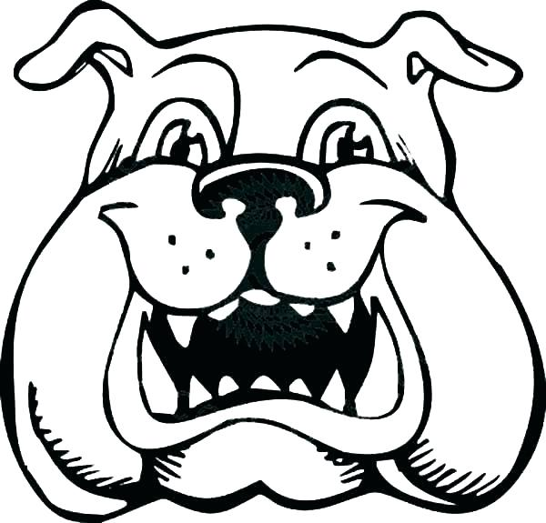 600x575 Bulldog Coloring Pages French Bulldog Coloring Pages French