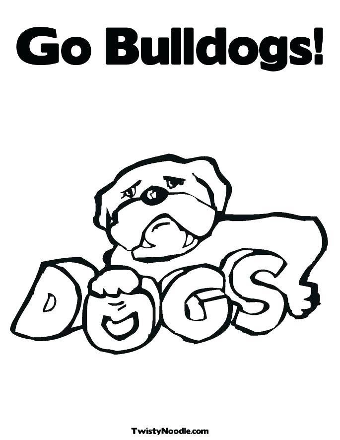 685x886 English Bulldog Coloring Pages Printable Bulldog Coloring Pages Go