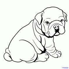 236x236 Printable Bulldog Coloring Page Free Pdf Download