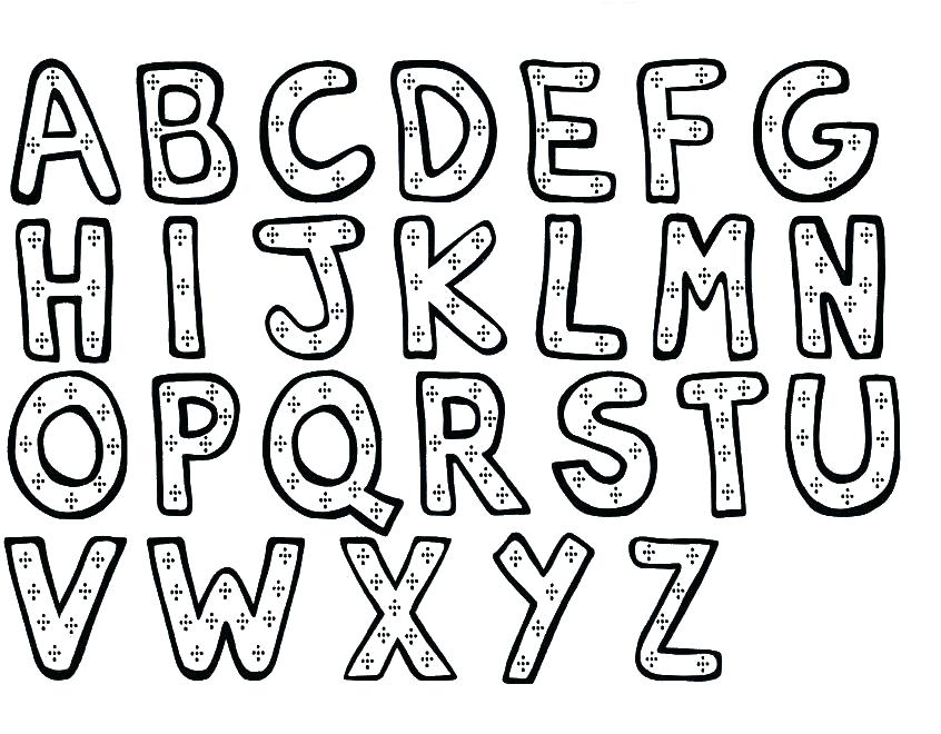 846x660 English Coloring Pages Coloring Pages Alphabet Color Pages Page