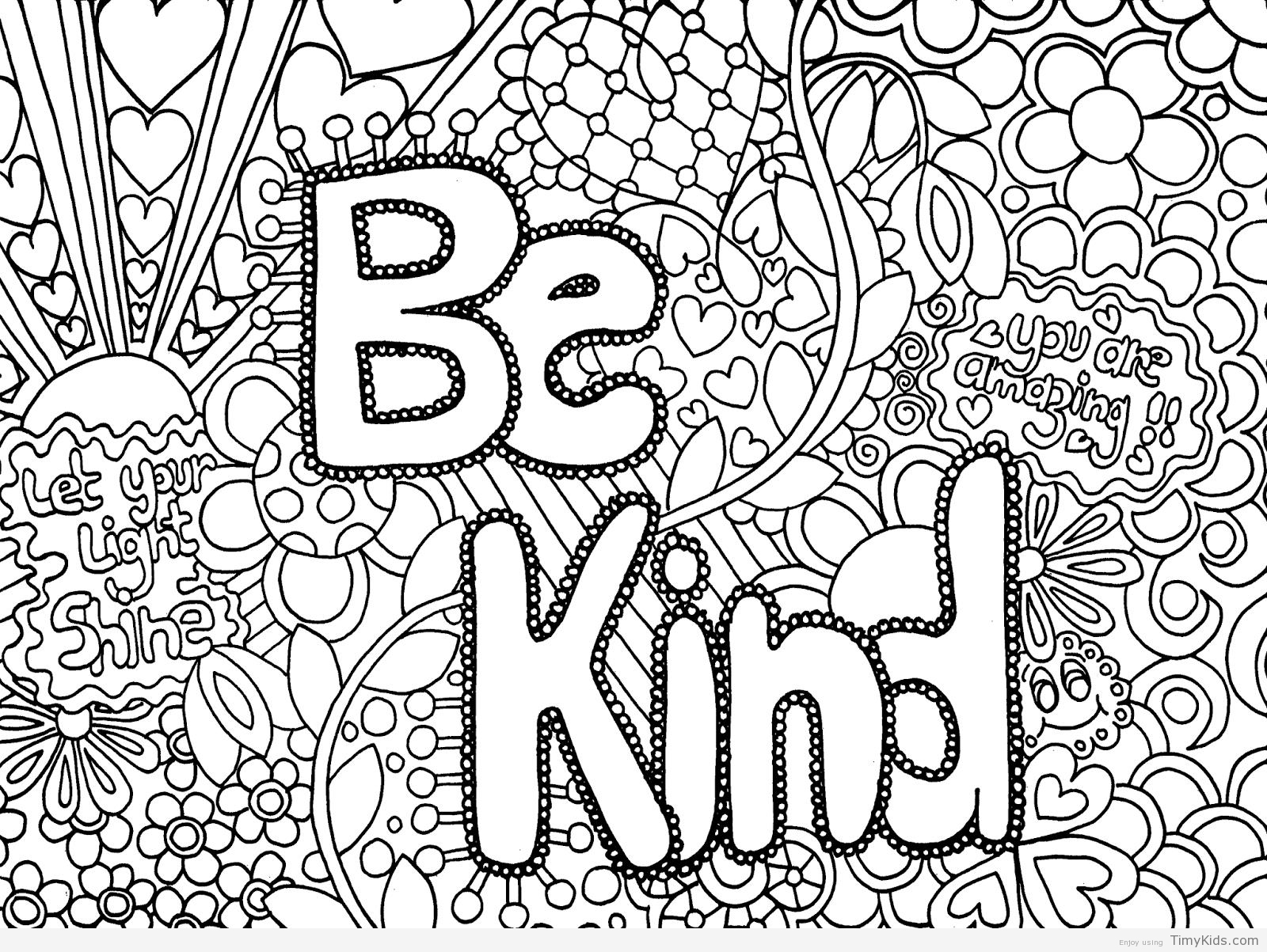 1600x1203 Printable Coloring Pages For Teenage Girls Timykids