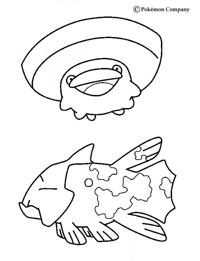 651x850 Water Pokemon Coloring Pages Many Interesting Cliparts