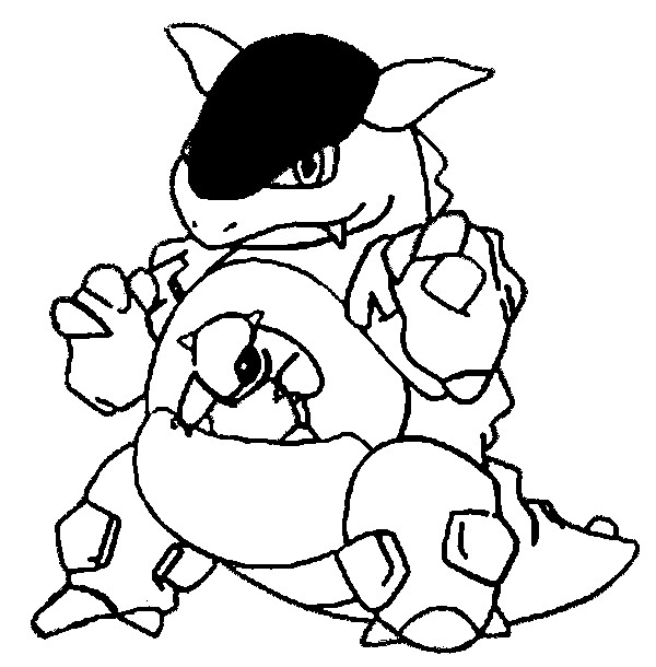 600x610 Coloring Pages Pokemon