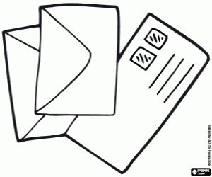 Kleurplaten Letter W.Open Envelope Icon At Getdrawings Com Free Open Envelope Icon