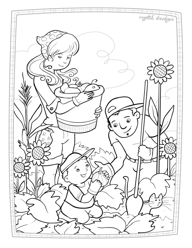 660x854 Coloring Pages Crystal Driedger