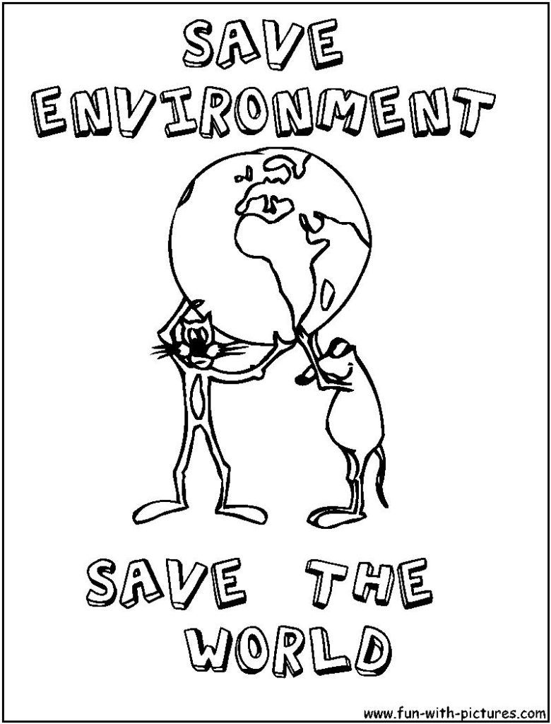 780x1024 Cool Coloring Pages Environmental Awareness Se