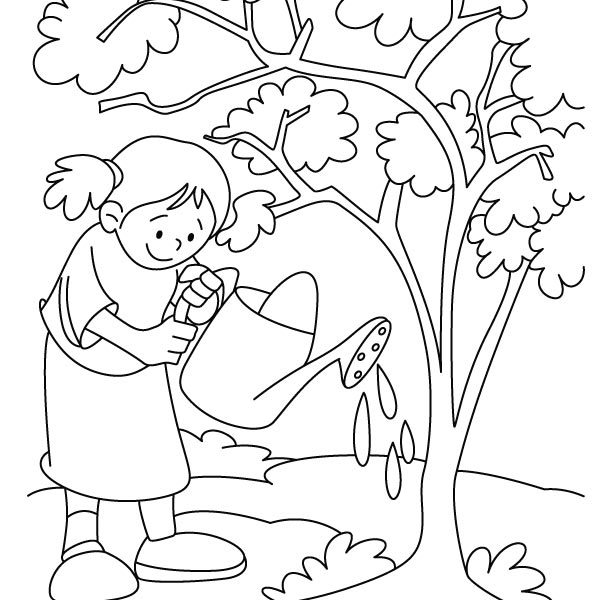612x600 Environment Colouring Pages Environment Coloring Page Coloring