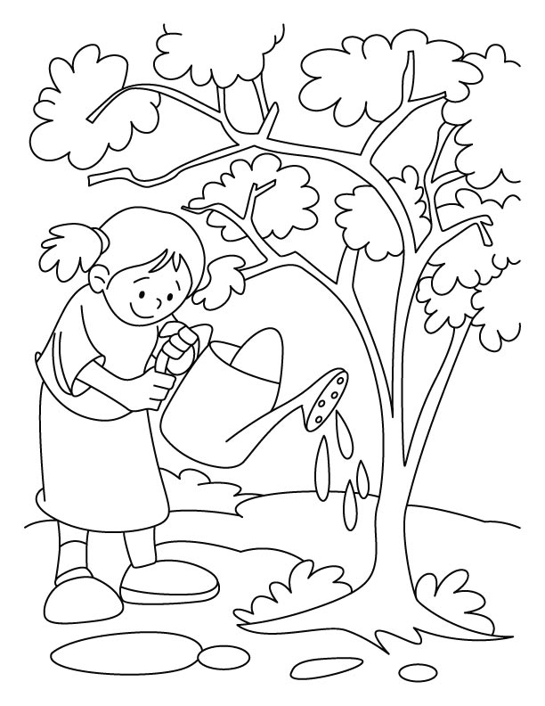 612x792 Environment Colouring Pages Tree Coloring Pages Download Free Tree