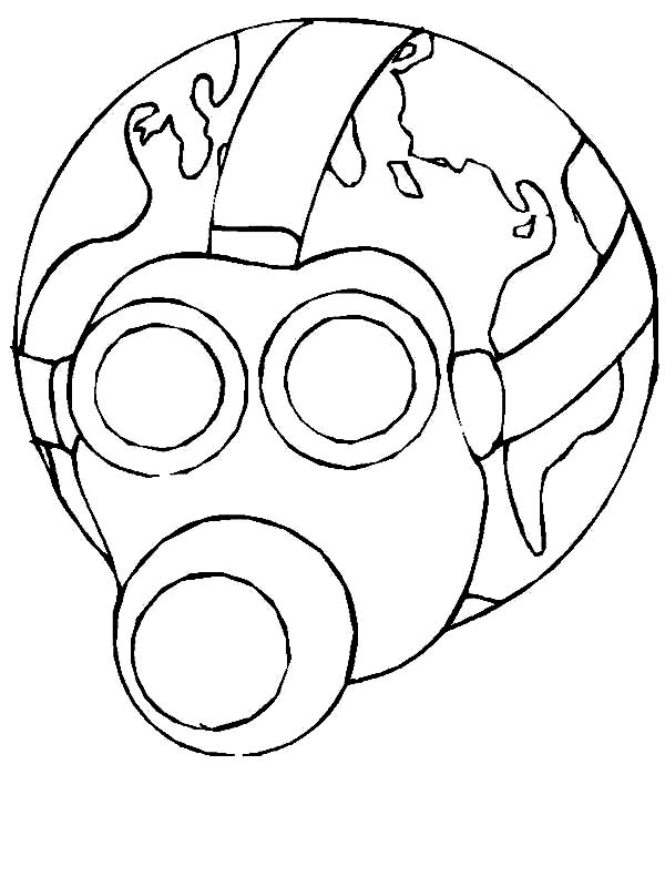 600x800 Less Toxic Environment On Earth Day Coloring Page Color Luna