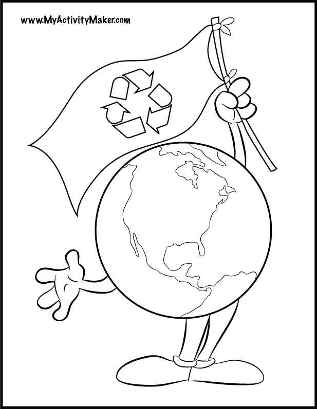 617x797 We Hope Earth Day Coloring Pages Can Be A Learning Place
