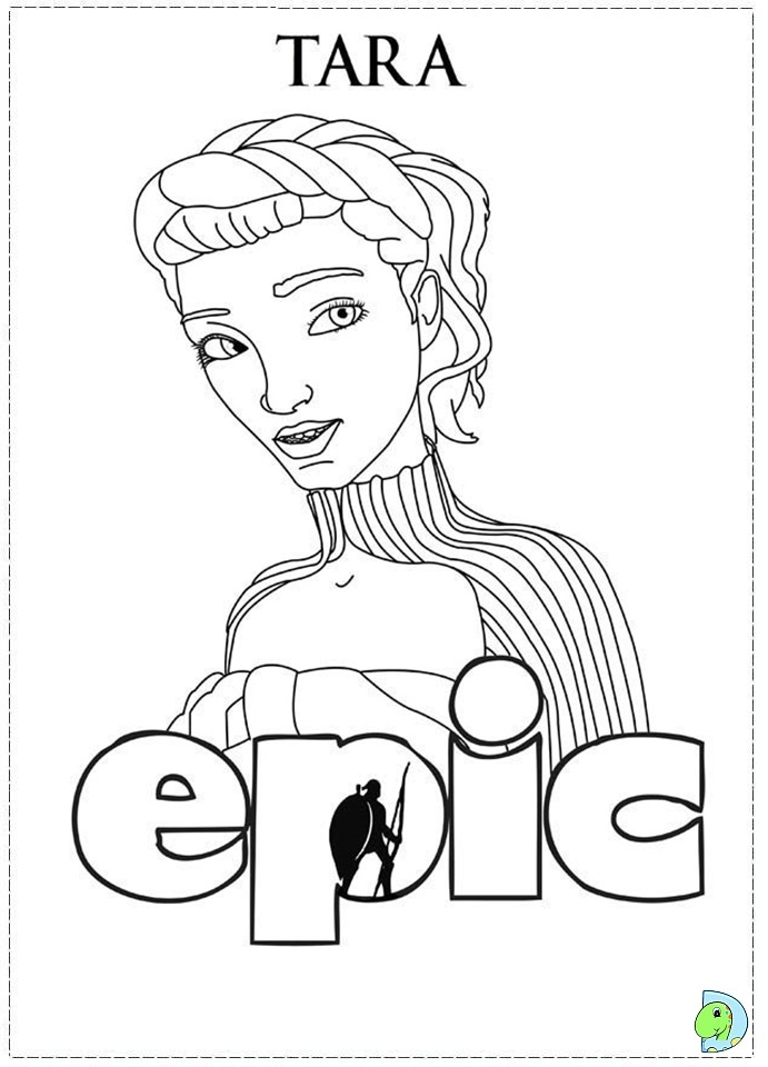 691x960 Queen Tara In Epic Colouring Pages, Epic Colouring Pages