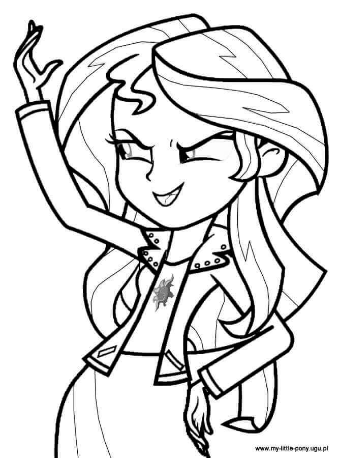 Equestria Coloring Pages